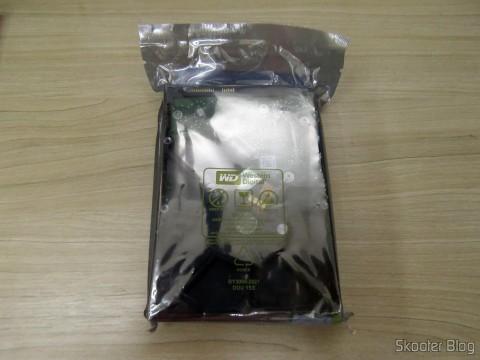 HD Western Digital WD Green 3.0TB WD30EZRX, on its packaging