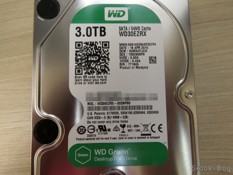 HD Western Digital WD Green 3.0TB WD30EZRX