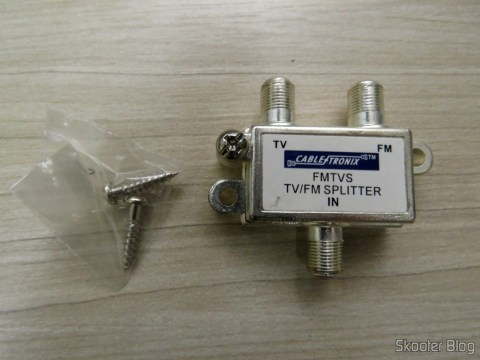 Tab or TV and FM Combiner 75 Ohms Cabletronix FMTVS