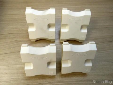 Adaptadores de Tomada com 4 saídas de 3 pinos (2P+T) 10A