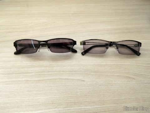Sunglasses with Degree - G4u 2104 com lentes 1.57 CR39 and Glasses G4U 7901with lenseses 1.56 Photochromic Gray