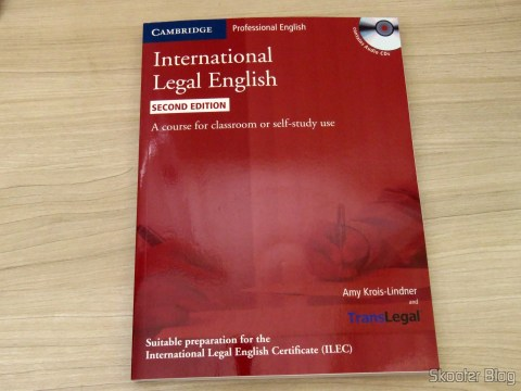 Livro International Legal English Student's Book with Audio CDs (3): A Course for Classroom or Self-study Use