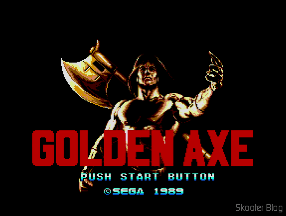 Golden Axe-Master System-Tec Toy tips