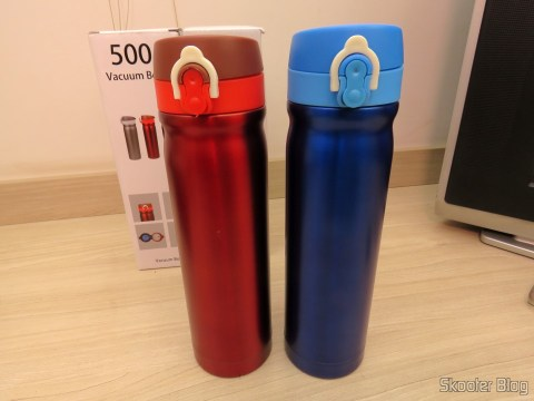 Thermoses from stainless steel 500 ml