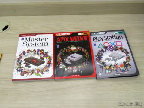 The first three volumes of the OLD File collection!Gamer: Master System, Super Nintendo and PlayStation