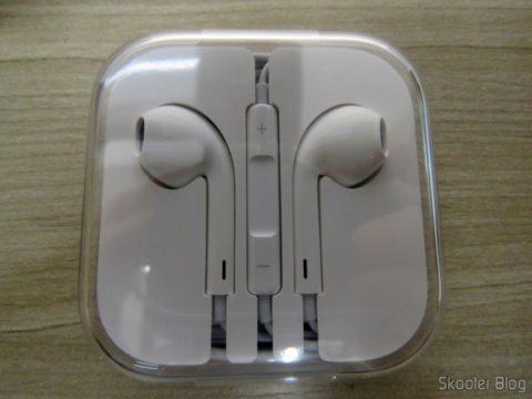 """Fone de ouvido do iPhone 5S 32GB Prata Tela 4"""" IOS 8 4G 8MP Camera"""