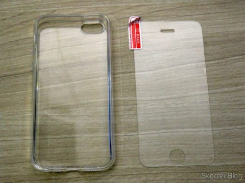 Cover and glass Film for iPhone 5