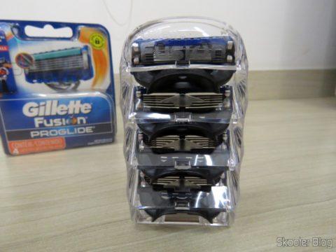 Carga Gillette Proglide Regular com 4 unidades