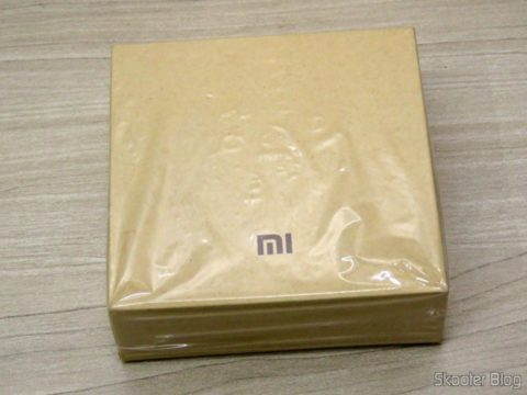 Smart Bracelet Xiaomi Mi Band 2 on its packaging