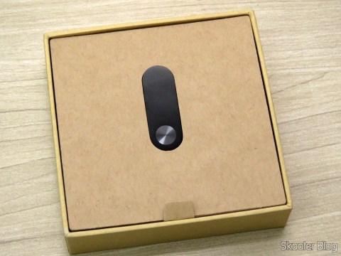 Smart Bracelet Xiaomi Mi Band 2 on its packaging