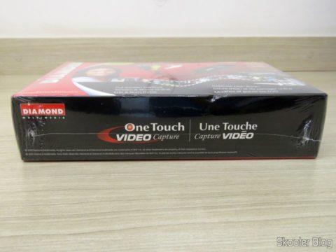 Diamond VC500 USB 2.0 One Touch VHS to DVD Video Capture Device, em sua embalagem