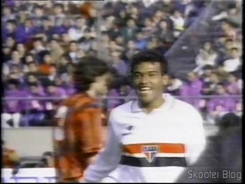 São Paulo vencendo o Milan e se tornando bi-campeão do mundo em 1993