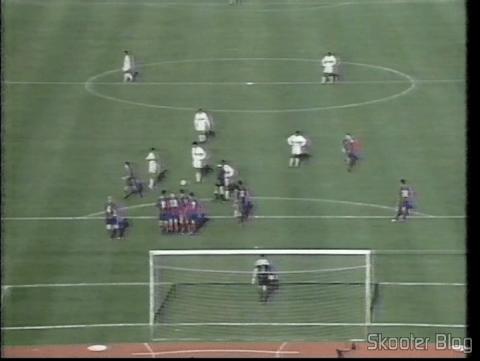 São Paulo vencendo o Barcelona e se tornando campeão do mundo em 1992