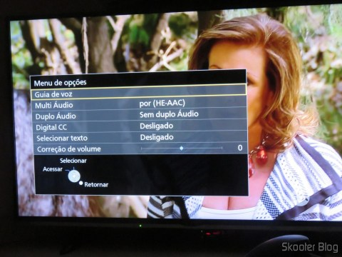 "Options on the Smart TV Panasonic Viera 40"" - TC-40DS600B"