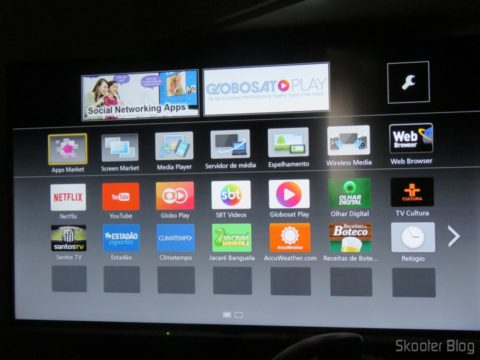 "Aplicativos na Smart TV Panasonic Viera 40"" - TC-40DS600B"