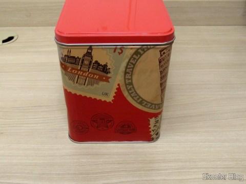 Lata Decorativa com o Ferro a Vapor Black & Decker AJ3000V com Ceramic Gliss