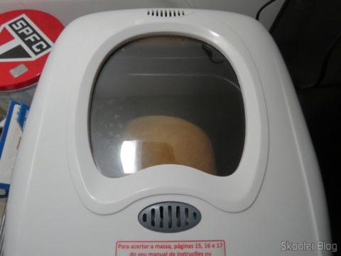 Panificadora Britania Multi Pane, baking the first loaf