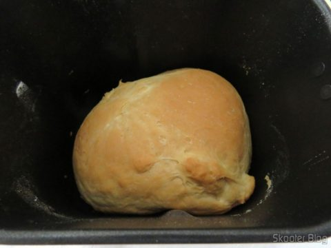 The second bread: Traditional white bread made in Sandwich