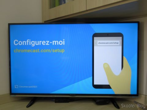 Configurando o Chromecast 2