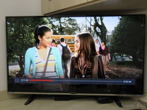 Testing the Netflix in Chromecast 2