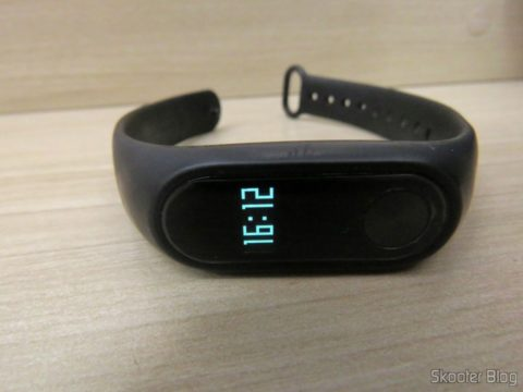 Protective film for Xiaomi Mi Band 2 After application