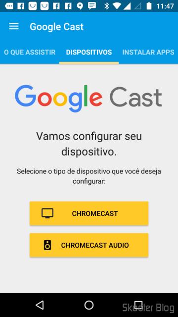Configuring Chromecast 2