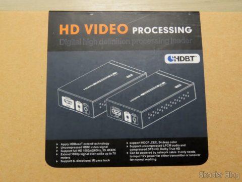 Lenkeng LKV375 HDBaseT HDMI Extender in your package