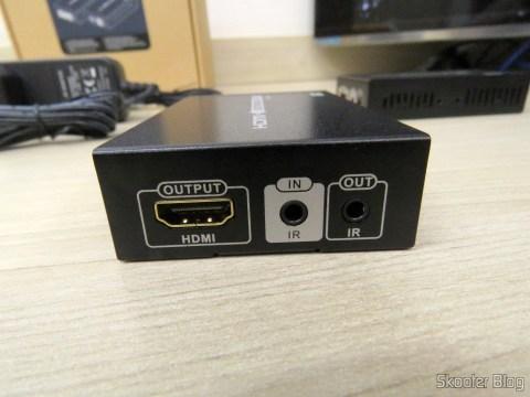 Receptor do Extensor HDMI Lenkeng LKV375 HDBaseT