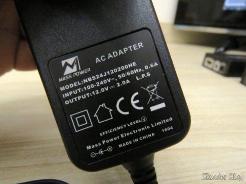 Power supply Lenkeng LKV375 HDBaseT HDMI Extender