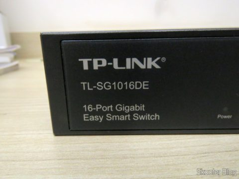 Switch Easy Smart Gigabit de 16 Portas TP-Link TL-SG1016DE