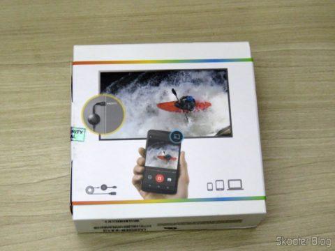 Chromecast 2, em sua embalagem