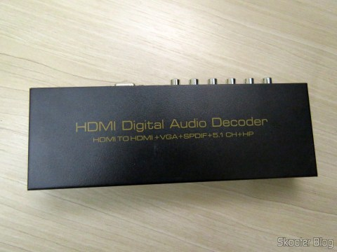 Decoder and HDMI to HDMI Audio Extractor, SPDIF and analog 5.1