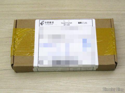Caixa com o Kit de Memória Hynix 2GB (2x1GB) DDR PC2700 333MHz para Laptop