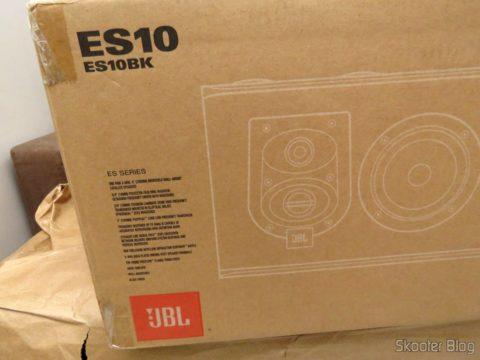 JBL speakers in their packaging