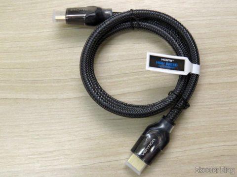 Cabo HDMI 2.0 4K 3D 60Hz Vention de 75 centímetros