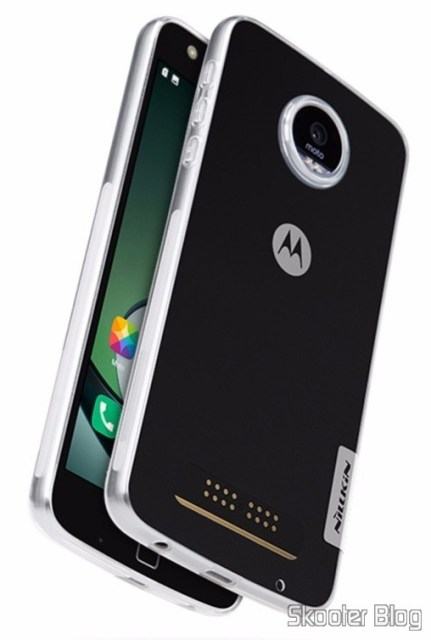 Cover of Nillkin for Moto Z Play