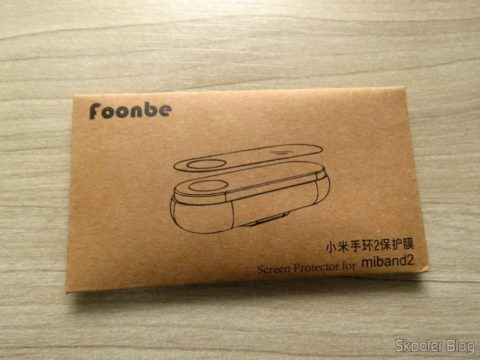 Envelope with the 10 Films for Xiaomi my Band 2