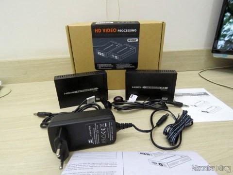 2HDMI Extender HDBaseT LKV375 paragraph Lenkeng for Single twisted pair