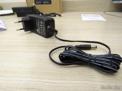 Fonte de Alimentação do 2º Extensor HDMI Lenkeng LKV375 HDBaseT por Par Trançado Único