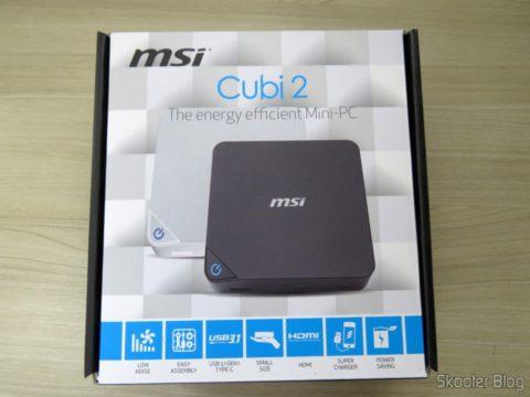 MSI Cubi 2, em sua embalagem