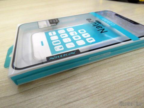 Capa de TPU Ultra Fina para iPhone 5S/SE Nillkin Original em sua embalagem