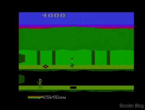 Pitfall 2 no Atari 2600 após o ajuste