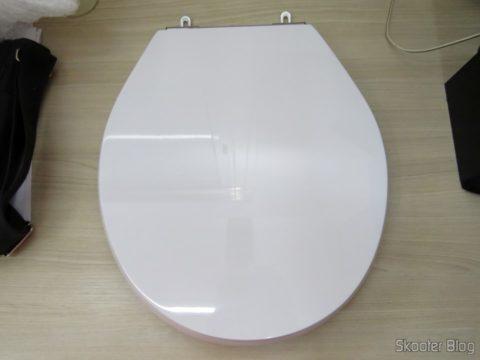 Assento Sanitário Poliéster para Louça Deca Ravena, da marca Sedile
