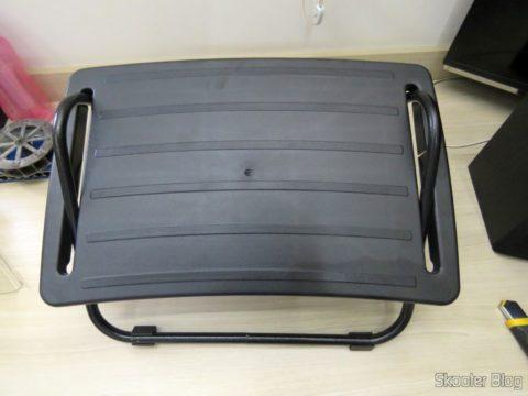 Footrest Adjustable In High-density Black Armchairs Paraná