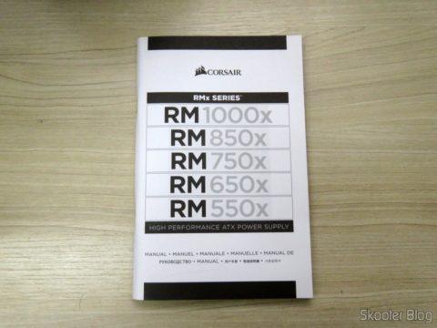 Power supply manual fully Modular RMx Series ™ RM550X — 550 Watt with certification 80 PLUS ® Gold