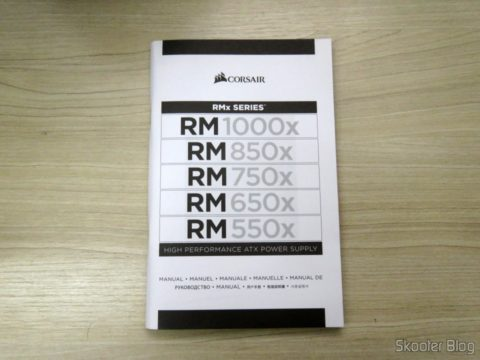 Power supply manual fully Modular RMx Series ™ RM550X — 550 Watt with certification 80 PLUS ® Gold