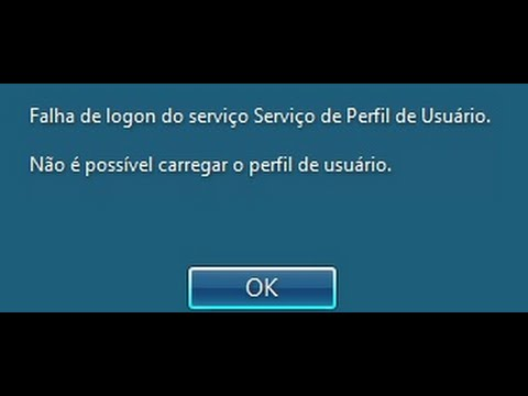 Windows 10: Login failed for user profile service service. Unable to load the user profile.