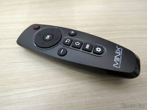 Controle Remoto Original do TV Box / Media Hub Minix NEO U1