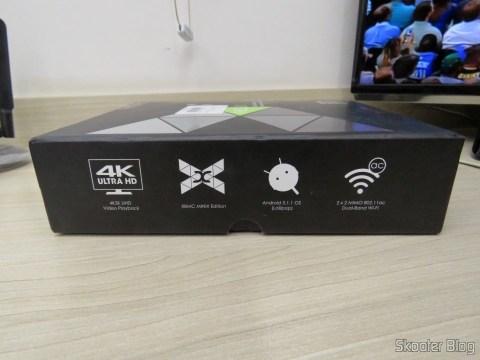 Caixa do Minix NEO U1