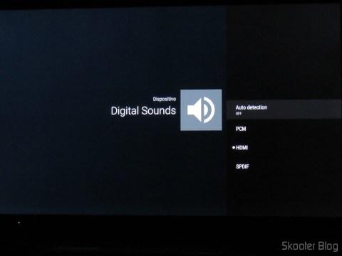 Configurando o passthrough de áudio no Android